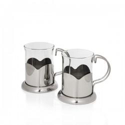Sabichi 2-dielna sada sklenených pohárov na čaj LOTUS