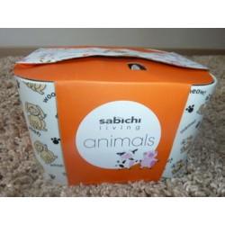 4-dielna sada detských hrnčekov ANIMAL