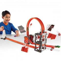 Hot Wheels track builder búrací set